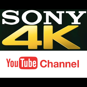 Sony 4K Youtube Channel