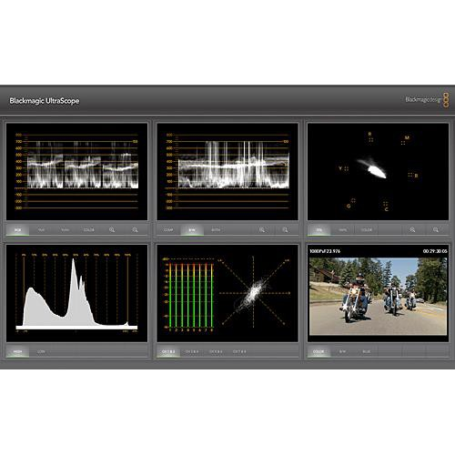 Waveform Monitors / Vectorscopes
