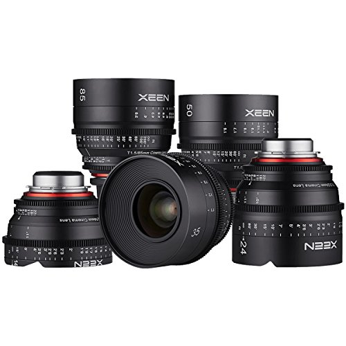 Rokinon Xeen 5 Lens Kit (Rental)
