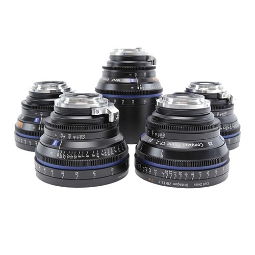 Zeiss CP.2 Prime Lens Kit