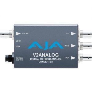 AJA V2Analog HD/SD-SDI to Analog Mini-Converter