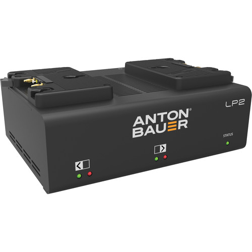 Anton Bauer LP2 Dual Gold-Mount Battery Charger