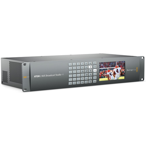 Blackmagic Design ATEM 2 M/E Broadcast Studio 4K Switcher