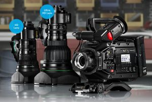 Blackmagic Design URSA Broadcast Camera B4 Lens Mounts