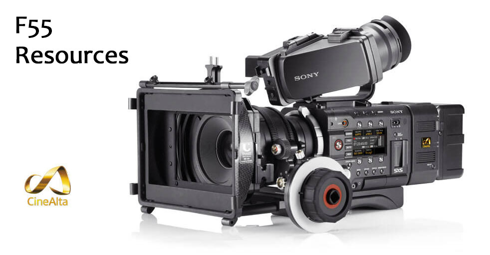 Sony F55 Resources