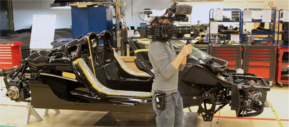 """APEX: the Story of the Hypercar"" by boutique production company, TangentVector documents the creation of the Koenigsegg One:1. Photo credit: Jalopnik / GF Williams."