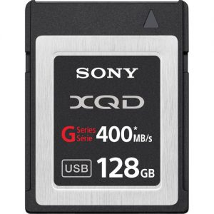 Sony 128GB G Series XQD Format Version 2 Memory Card Rental Minneapolis