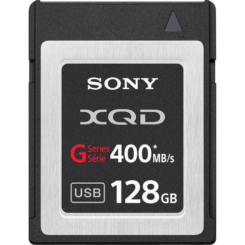 Sony 128GB G Series XQD Format Version 2 Memory Card Rental Minneapolis