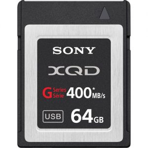 Sony 64GB G Series XQD Format Version 2 Memory Card Rental Minneapolis
