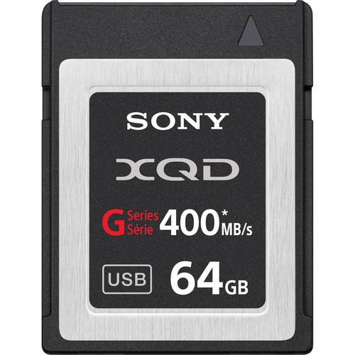 Sony 64GB G Series XQD Format Version 2 Memory Card Rental Minneapolis