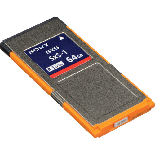 Sony 64GB SxS-1 (G1B) Memory Card