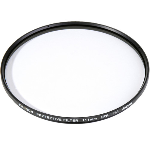 Fujinon 111mm Protection Filter for ZK2.5x14 / ZK4.7x19 / ZK3.5x300 Lens