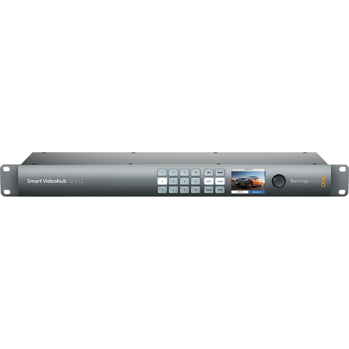 Blackmagic Design Smart Videohub 12 x 12 6G-SDI