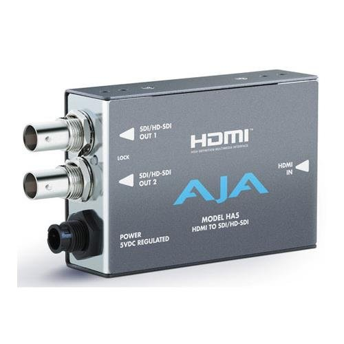 AJA HA5 HDMI to SD/HD-SDI Converter