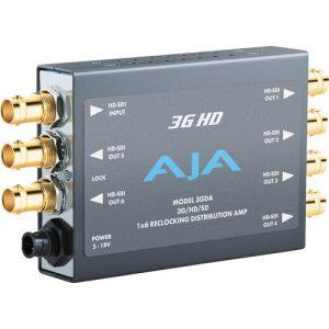 AJA 3G HD - 1x6 3G/HD/SD Reclocking Distribution Amplifier