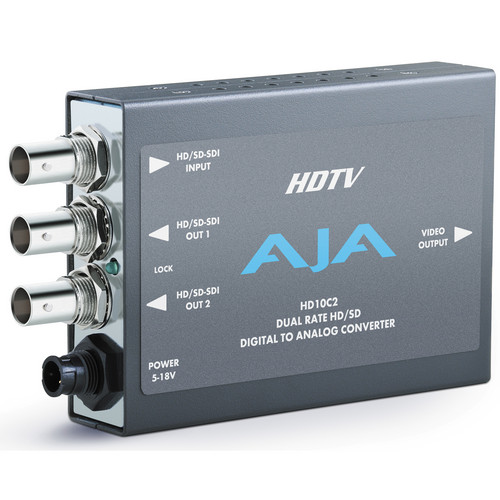 AJA HD10C2 SDI to Analog