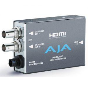 AJA HDMI to SD/HD-SDI HA5 Video and Audio Converter