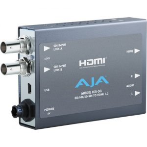 AJA Hi5-3G 3G/Dual Link/HD/SD-SDI to HDMI Mini-Converter