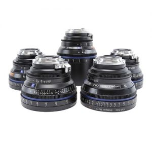 Zeiss CP.2 Prime Lens Kit