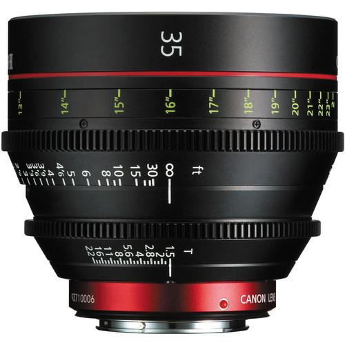 Canon CN-E 35mm T1.5 L F Cine Prime Lens EF Mount
