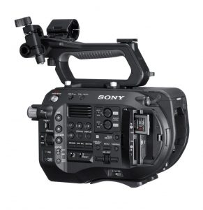 Sony FS7 II controls
