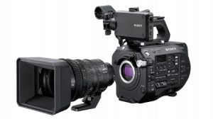 Sony FS7-II and Lens