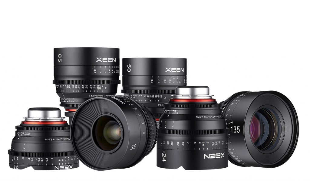 rokinon-xeen-samyang-lens-family-group