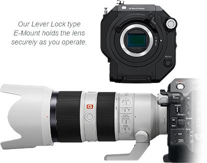 Sony FS7 II Lever Lock E-Mount