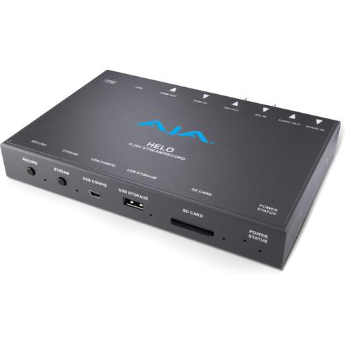 AJA HELO Streamer and Encoder