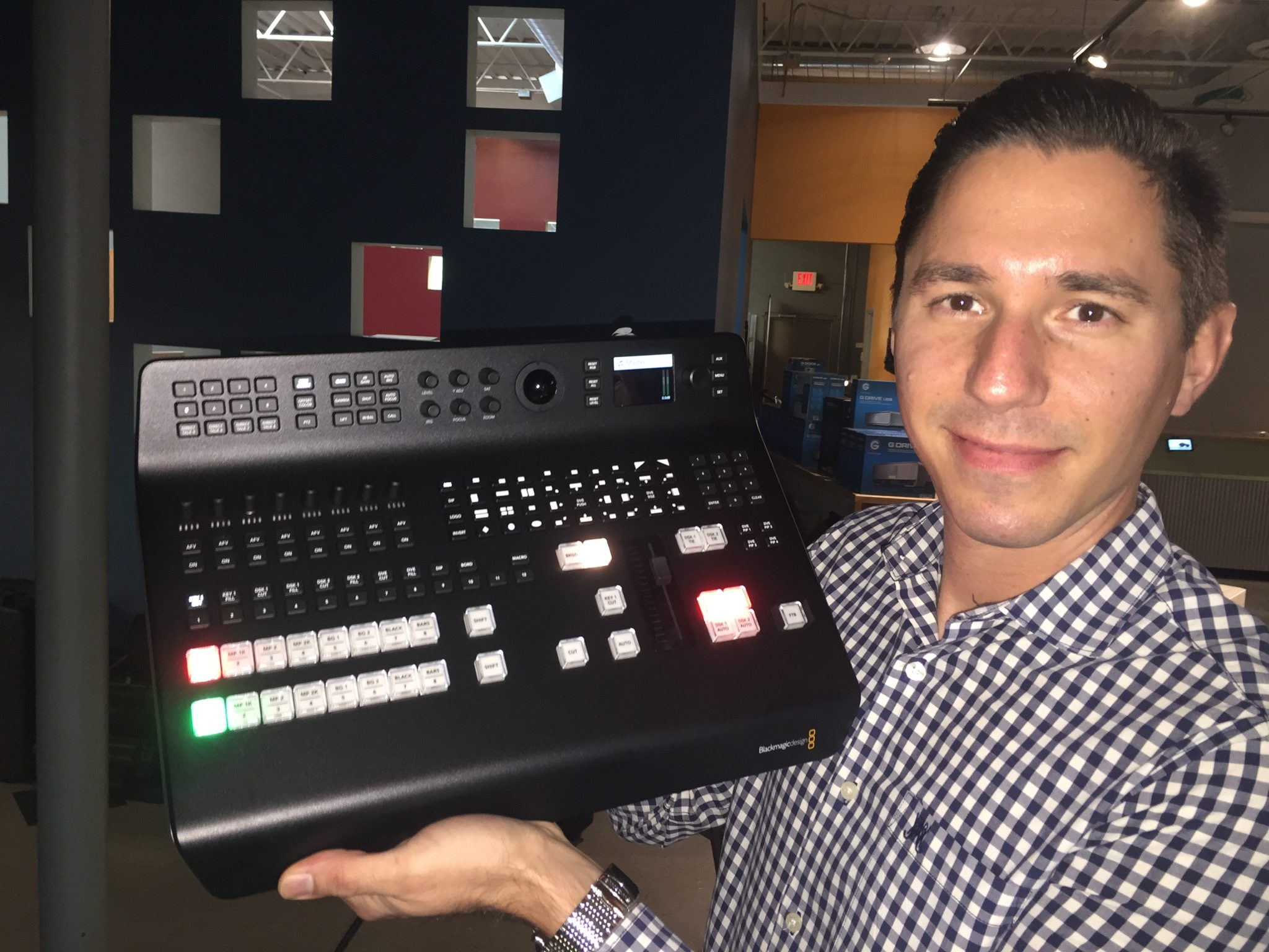 Blackmagic Atem Television Studio Pro Hd Switcher Is Here Z Systems Inc