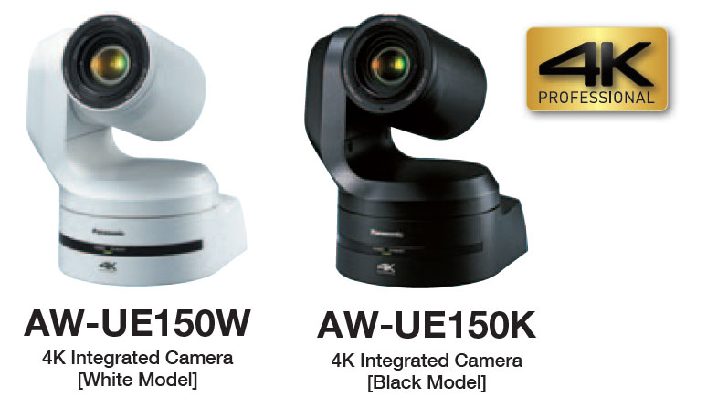 Panasonic AW-UE150 - Black Version and White Version