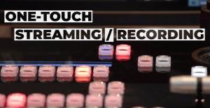 Panasonic AV-HLC100 One-Touch Streaming/Recording