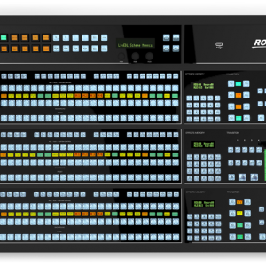 Carbonite Black Plus 12G 2 M/E Live Production Switcher with 36 3G Input and 25 3G Output Chassis