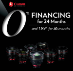 Canon 0% Financing  Event