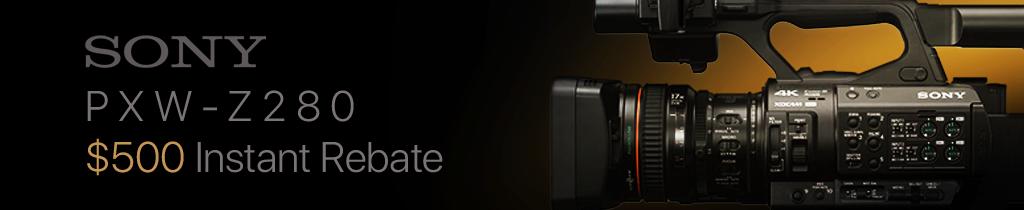 Sony PXW-Z280 Instant Rebate