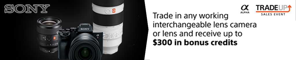 Sony Trade-in/Trade-up