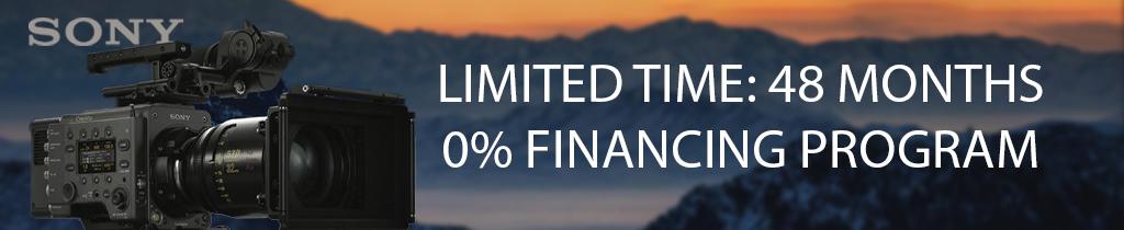 Sony Zero Percent Financing Program