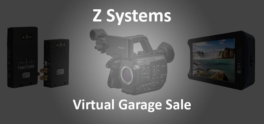 Used equipment garage sale