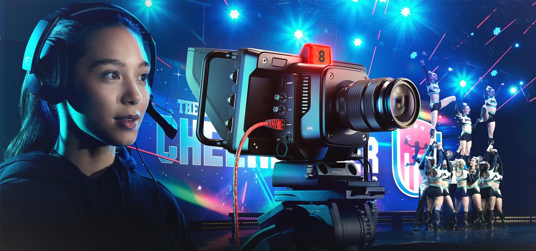 Blackmagic Studio Camera Homepage Slide