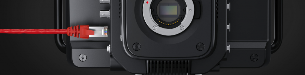Blackmagic Studio Camera Ethernet