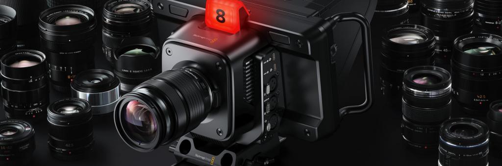 Blackmagic Studio Camera Lenses